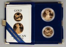 1987 American Eagle Gold Bullion Coins