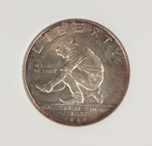 1925 California Commemorative Fifty Cents