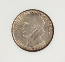 1937-D Boone Commemorative Fifty Cents