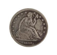 1840 Seated Liberty Half Dollar