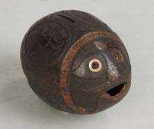 Carved Coconut Bank