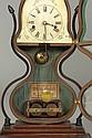 Rare JC Brown, Bristol, CT, Acorn Shelf Clock