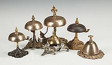 Group of Victorian Brass Bells