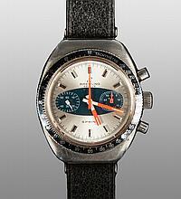 Bretling, Geneva, Sprint Model Stainless Steel Men's Watch
