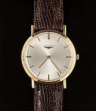 Vintage Swiss Longines 18K Gold Watch