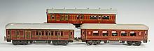 Two Bing Train Cars & One Unmarked German Car
