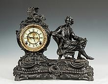 Ansonia Figural Shelf Clock