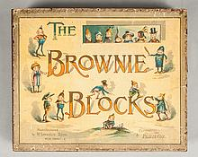 Palmer Cox Lithograph Brownie Block Set, McLoughlin Bros.