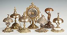 Victorian Brass & Nickel Bells