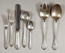 Tiffany & Co. Sterling Silver Flatware Set - Faneuil Pattern