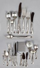 Wallace Sterling Silver Flatware Set -