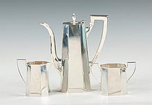 Tiffany & Co. Sterling Silver 3-Piece Tea Set