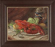 Rudolph Missbach (American, mid 20th cent.) Pair of Still Life's
