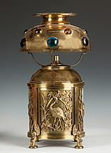 Attr. to Bradley & Hubbard Aesthetic Lamp