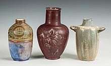 Three Art Pottery Vases