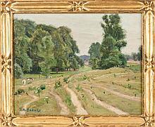 Frank A. Barney (American, 1862-1954) Landscape.