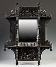 Victorian Ebonized Hanging Shelf