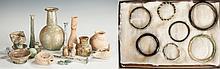 Group of Roman Glass & Pottery