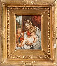 Miniature Painting of Madonna & Child