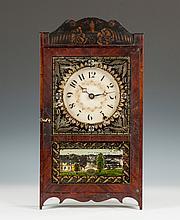 Very Rare Miniature Mark Leavenworth Shelf Clock, , Waterbury, CT