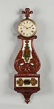 Rare Abel Chandler Lyre Banjo Clock, Concord, NH