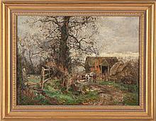 Sydney Grant Rowe (British, 1861-1928) English Landscape