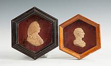 Two Wax Portraits