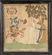 Pennsylvania Sampler, Betty Kinsey 1808