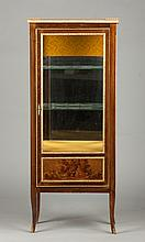 Stained Maple Vitrine