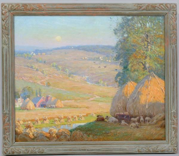 Sgn. Alexis Fournier (Am. 1865-1948)