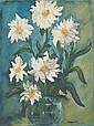 Paul Chidlaw (American, 1900-1989) Daisies oil on