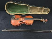 Vintage German made Antonio Stradivarius Copy Violin - poor cond.