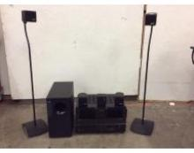 Bose Acoustimass 6 Hometheater System w/ Rotel RB-1050 amp & Yamaha receiver