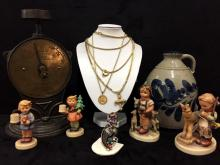 Amazing Antique Belgium Estate & Gold Jewelry Auction