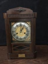 Rare mid 1800's HAC mantle clock no.7217 given as marriage present in the 20's