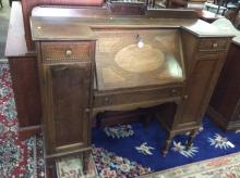 Lovely Vintage Double side Secretary desk in great condition - 1940's