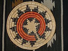 Native American Navajo Wedding Basket 15 Inch Wide 12 Points Deep Large