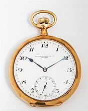 Patek Philippe 18K Yellow Gold Pocket Watch, c. 1918, Case Ser. # 235773, Movement #190286, the dial marked