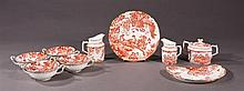 Group of Nine Pieces of Royal Crown Derby China, in the