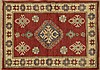 Kazak Carpet, 2' 6 x 3' 1.