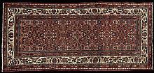 Persian Mahal Carpet, 3' 11 x 7' 5.