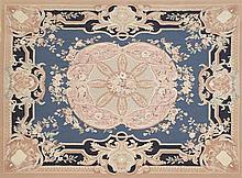 Empire Aubusson Carpet, 7' 9 x 10'.