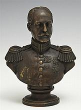 Russian Cabinet Bronze, 1851, possibly of Czar Nicholas I, signed