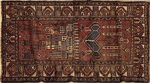 Belouchi Carpet, 3' 5 x 5' 4.