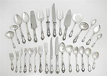 Two Hundred Forty-Four Piece Set of Sterling Flatware, by Wallace, in the