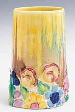Clarice Cliff Hand Painted Bizarre Vase, early 20th c.,