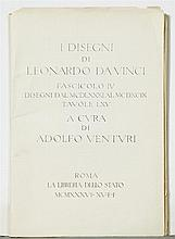 Portfolio of Fifteen Leonardo DaVinci Prints, 1936, unframed, H.- 21 in., W.- 15 in.
