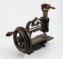 Victorian miniature sewing machine