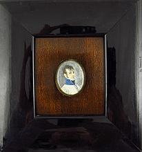 Portrait miniature - Portrait of a Army Officer