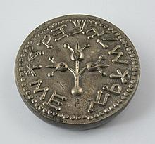 Paperweight with Hebrew inscription